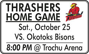 Thrashers Home Games