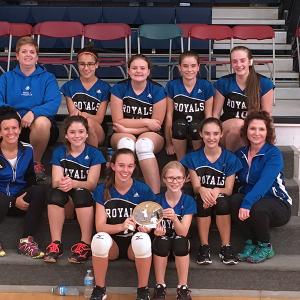 Three Hills School Jr. A Girls volleyball team claim victory in Delia