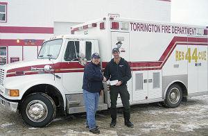ATCO donates $2,000 to Torrington Fire Department