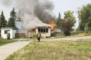 RCMP investigate suspicious fires