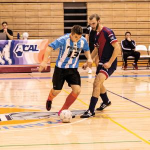 Pilots Futsal teams take on Voyageurs