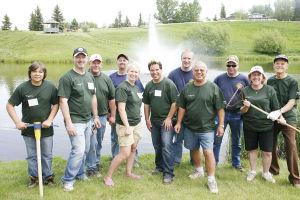 Coulee Park gets major Spruce Up