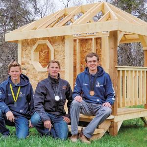 Three Hills carpenters participate in Skills Canada Alberta competition