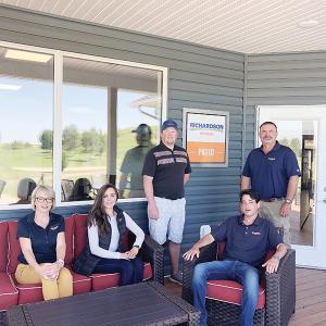 Richardson Pioneer Ltd. contributes $25,000 to Club House construction