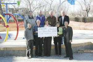 Servus Credit Union donates $10,000 to Spray Park