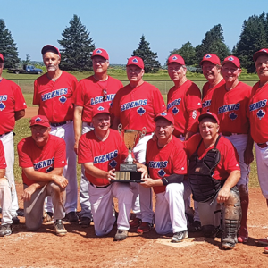 Former 49ers bring home the Canadian National Oldtimer's Baseball Championship