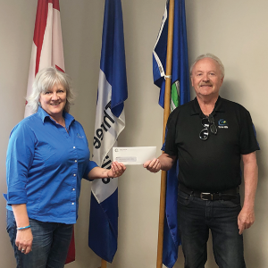 Chamber receives Municipal Grant