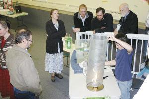 Kneehill Christian School holds Annual Science Fair