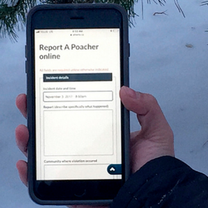 Albertans can now report poachers online