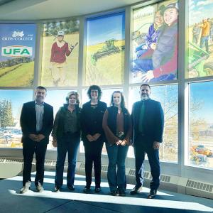 UFA supports innovation in Agriculture at Olds College with $500,000