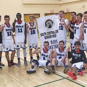 Royals claim 2A South Central Zone Sr. Boys Basketball Championship