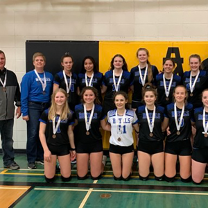 THS Sr. Girls capture South Central Zone 2A bronze
