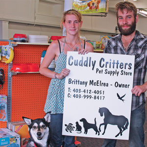 Cuddly Critters Pet Supply Store now open