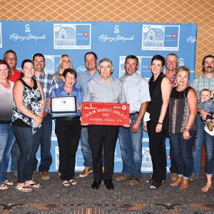 Hoppins Family receives 2018 BMO Farm Family Award