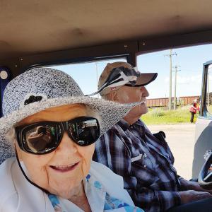 Hats Off to Dorothy Queck -  A Hidden Treasure in Three Hills