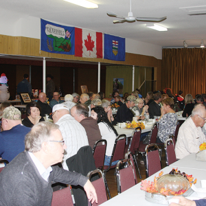 Annual Harvest Dinner Fundraiser held in Wimborne