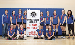 THS Junior 'A' Girls Volleyball bring home gold