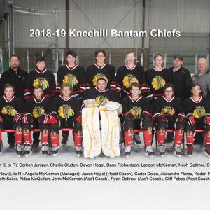 Chiefs to host Bantam D Provincial Hockey Championships