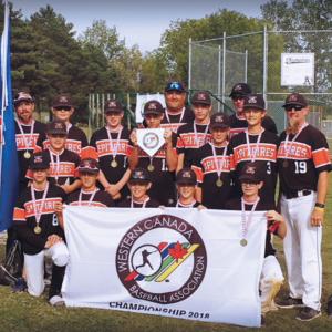 Local boys win Western Canadian Baseball Championship