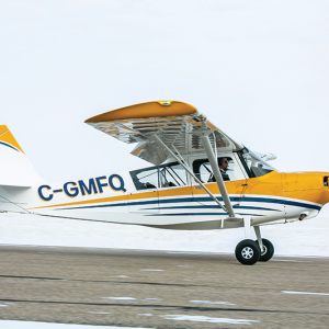 New Plane arrives at Prairie Aviation Training Centre