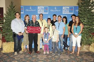 Jim Eskeland receives 2010 BMO Farm Family Award