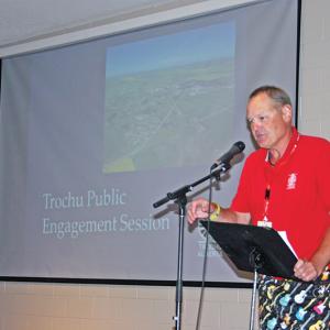 Trochu hosts Public Engagement Session