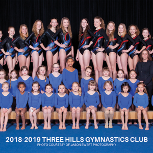 Three Hills Gymnastics Club celebrating 40 years