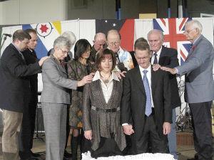 Dedication held for Prairie President