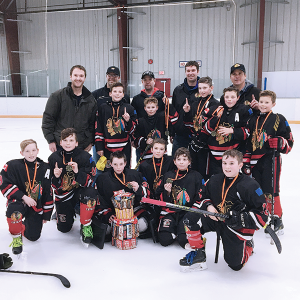 Kneehill Atom Chiefs bring home Gold