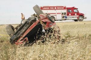 Single Motor Vehicle crash claims life