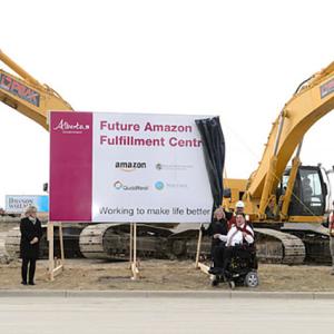 Amazon delivers hundreds of jobs to Calgary region