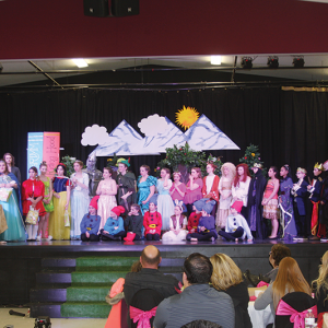 "Trochu Valley School Drama Troupe presents a ""A Mixed Up Fairy Tale"""