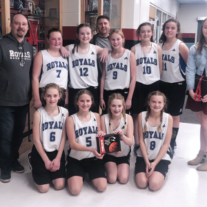 Three Hills School Jr. B Girls Basketball