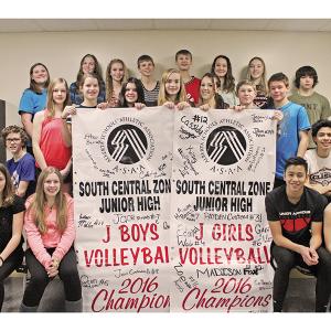 Dr. Elliott School celebrates volleyball season to remember