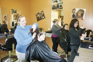 Acme School Opens Cosmetology Room