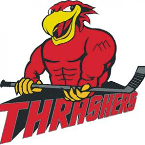 Thrashers end season with victory
