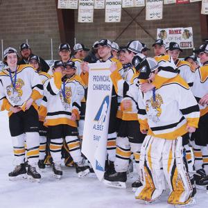 Hanna Colts claim Bantam D Provincial Championship