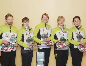 Carbon Curler, Provincial Jr. Champion