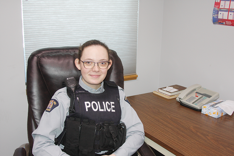 RCMP Constable Lindsay Ferrier