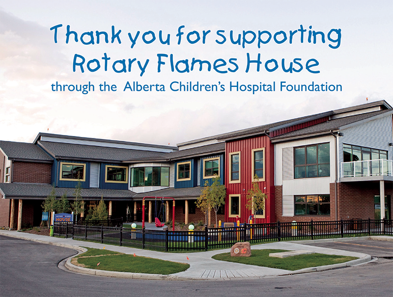 Rotary Flames House