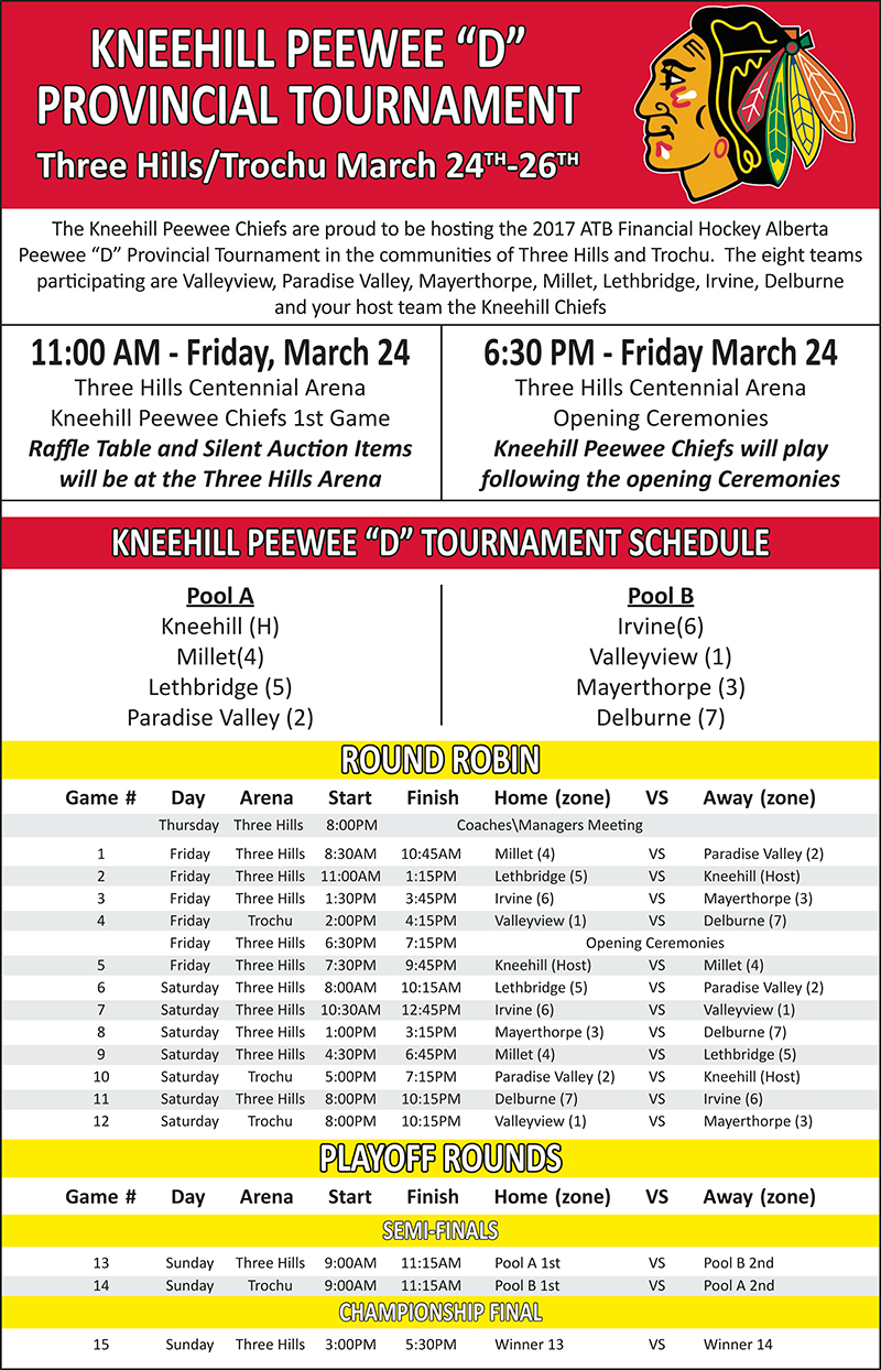 Minor Hockey Peewee D Provincials