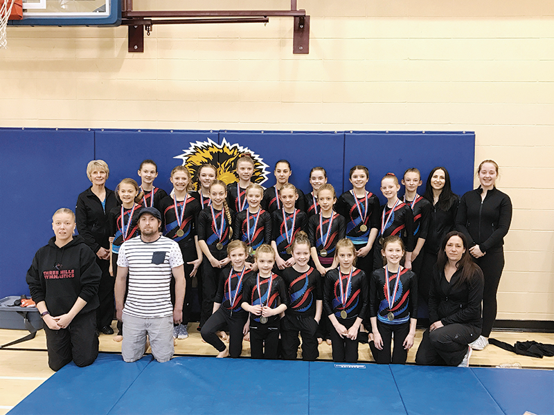 Three Hills Gymnast Comp March 2017