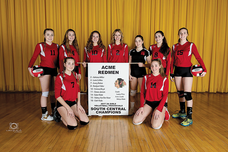 Acme Redmen Girls Provincials 2017