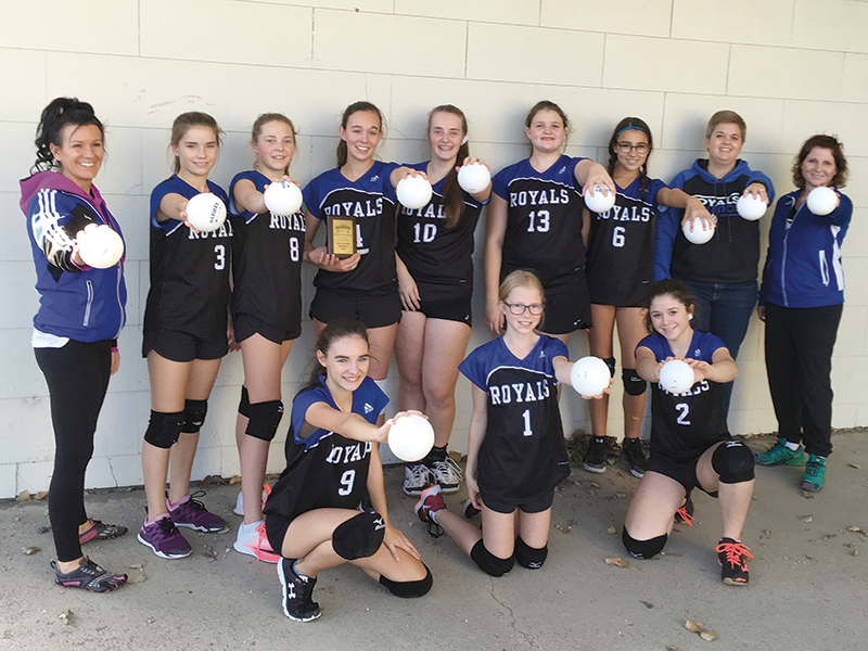 THS Jr Girls Volleyball 3rd Place