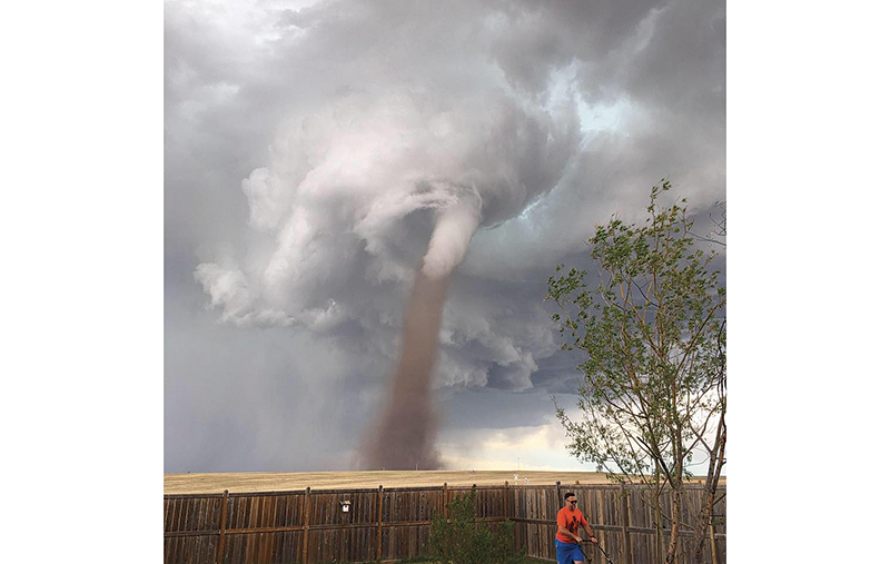Tornado Lawnmower