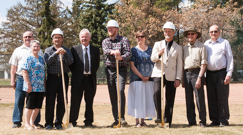 Tabernacle Sod Turning