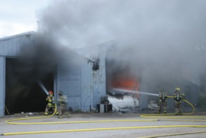 Linden and Acme Fire respond to early morning blaze