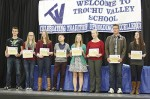 Trochu Valley School holds Academic Awards