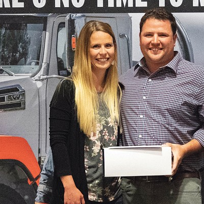 Brady and Kelsey Tullikopf win Outstanding Award of Excellence