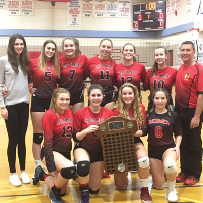 Acme Volleyball teams go undefeated